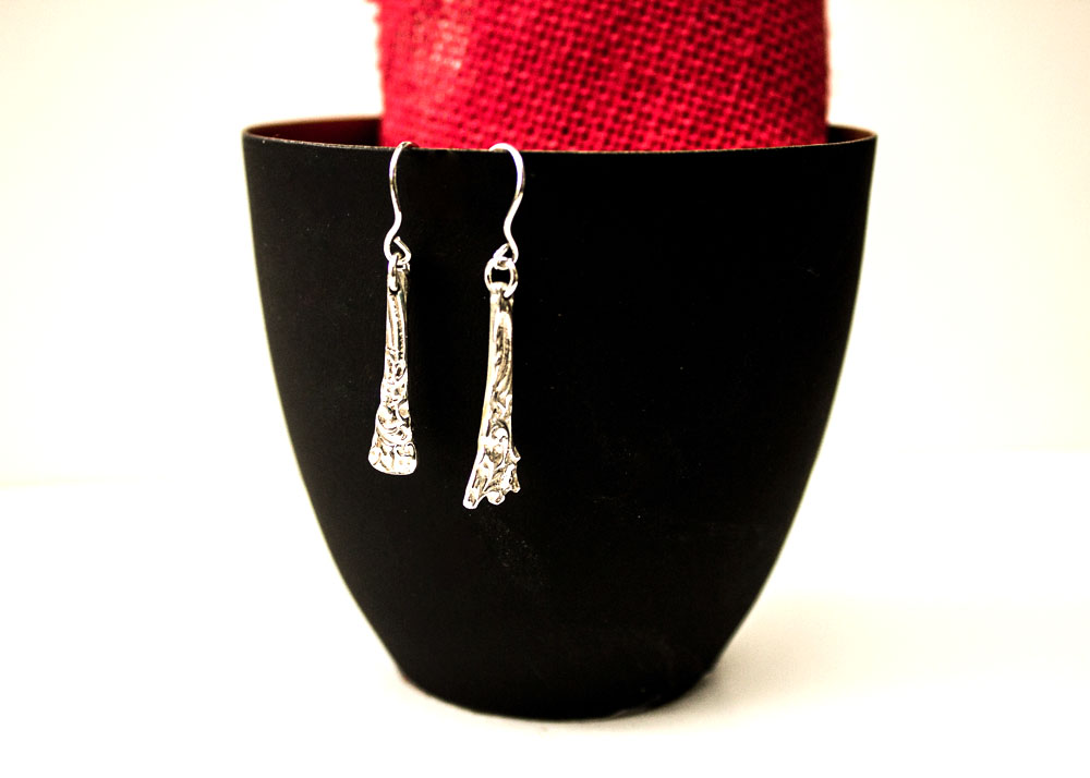 Antique Spoon Earrings By The Silver Goose