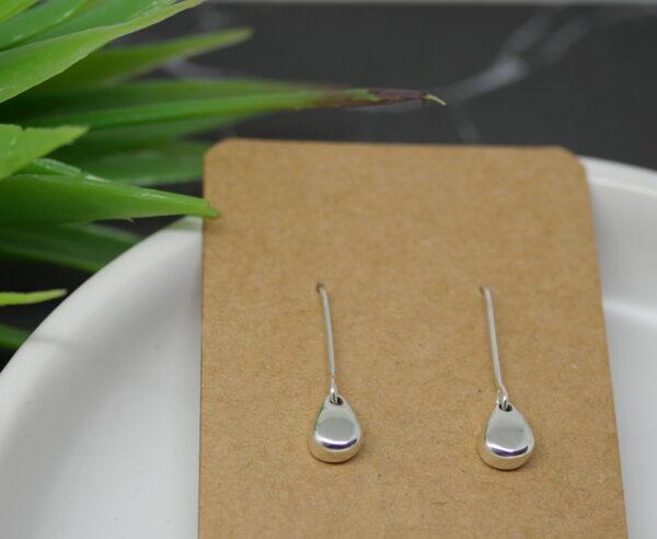 Raindrops - Handmade Solid Sterling Silver Earrings by Purplefish Designs Purplefish Designs (Fitzroy)