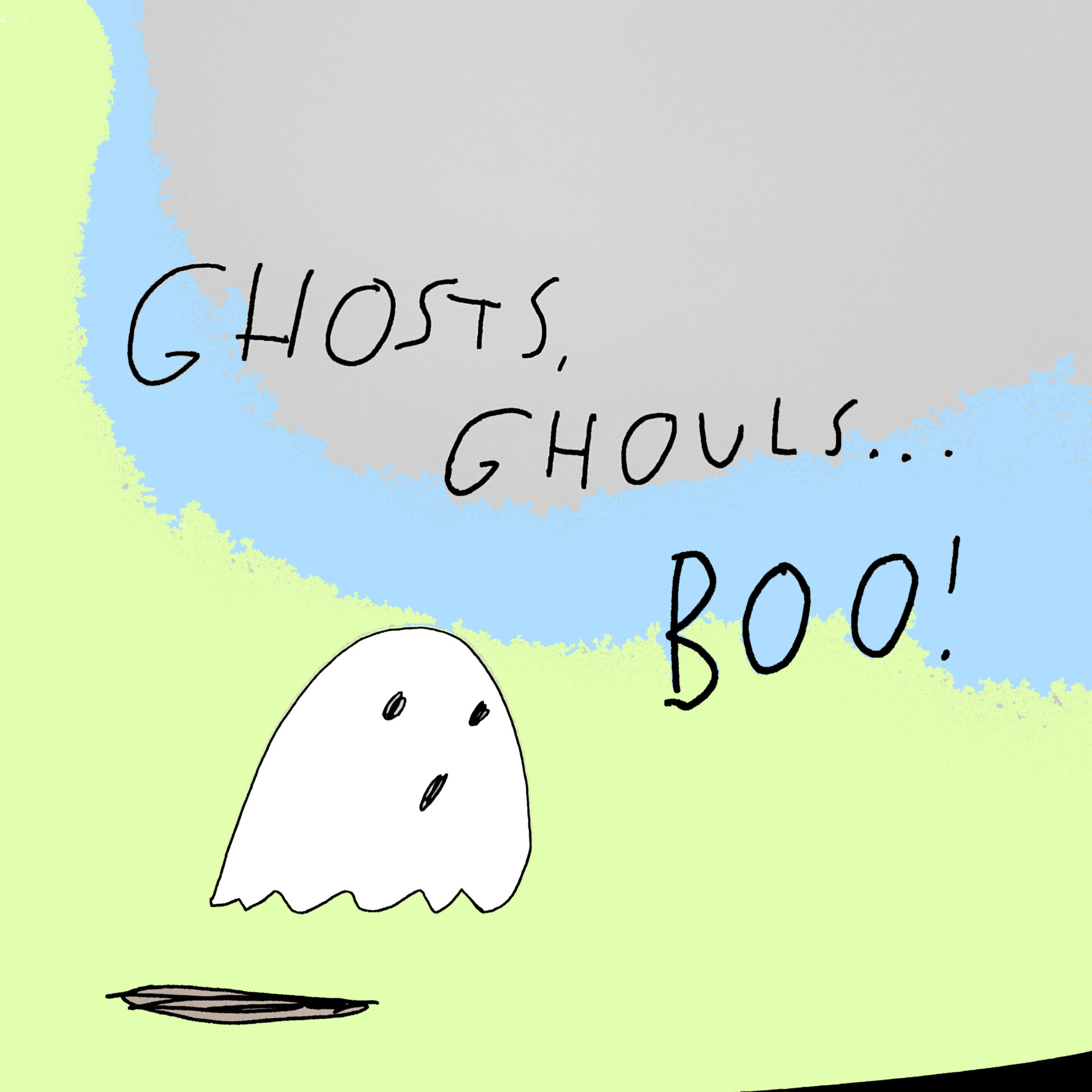 Ghosts, Ghouls... Boo