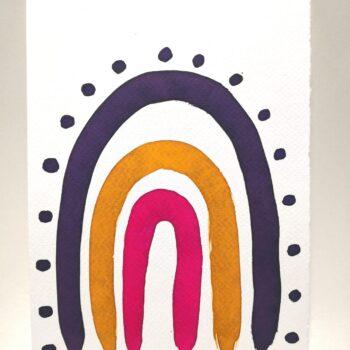bunch-of-flowers-watercolour-painting-by-gaby-niemeyer-art Gabrielle Niemeyer 141014