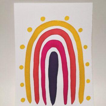 bunch-of-flowers-watercolour-painting-by-gaby-niemeyer-art Gabrielle Niemeyer 225016