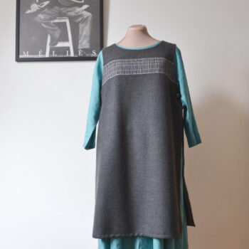 open-tunic-s-and-m-slate-grey-by-a-pois apois 998650