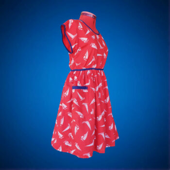 sailboat-dress-size-6-8-retro-fabric-party-dress-by-evilruby Evilruby 174552