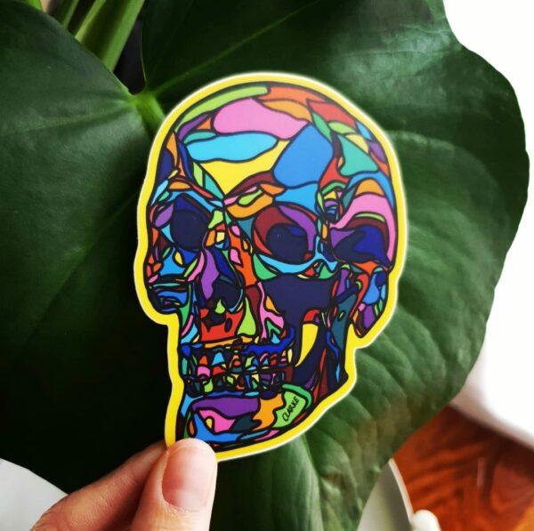 skull-sticker-by-clarke-collection Clarke Collection 817475