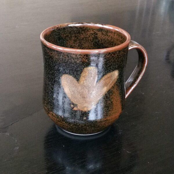 decorated-mug-in-iron-amp-rutile-glaze-by-clifton-hill-pottery Clifton Hill Pottery 253899