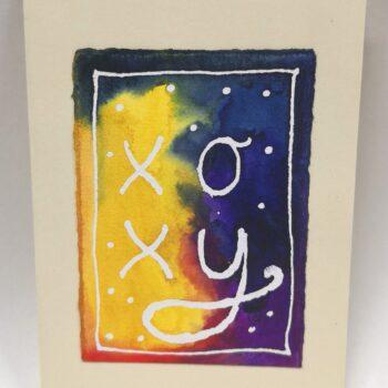 rainbow-gift-card-5-hand-painted-gift-card-by-gaby-niemeyer-art Gabrielle Niemeyer 267574
