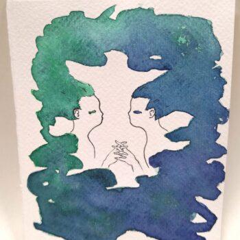 rainbow-gift-card-5-hand-painted-gift-card-by-gaby-niemeyer-art Gabrielle Niemeyer 288036
