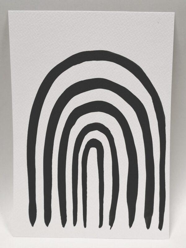 rainbow-gift-card-5-hand-painted-gift-card-by-gaby-niemeyer-art Gabrielle Niemeyer 753493