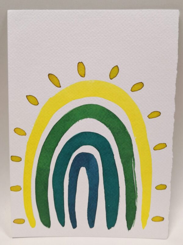 rainbow-gift-card-5-hand-painted-gift-card-by-gaby-niemeyer-art Gabrielle Niemeyer 539973
