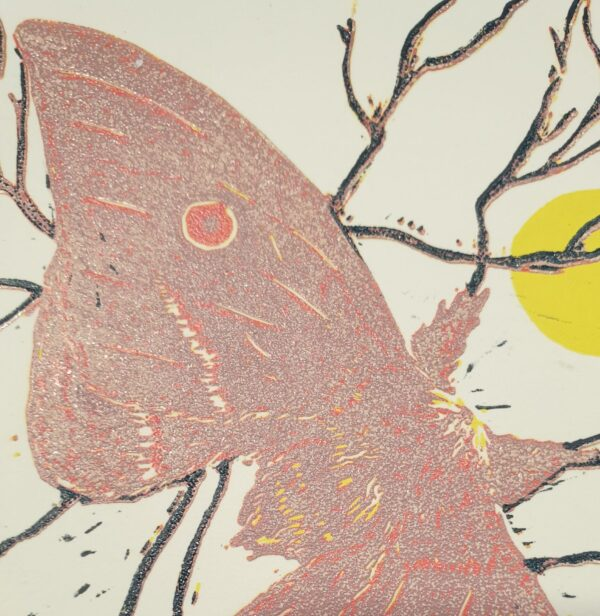 helena-moth-6-colour-reduction-linoprint Kaz 280763