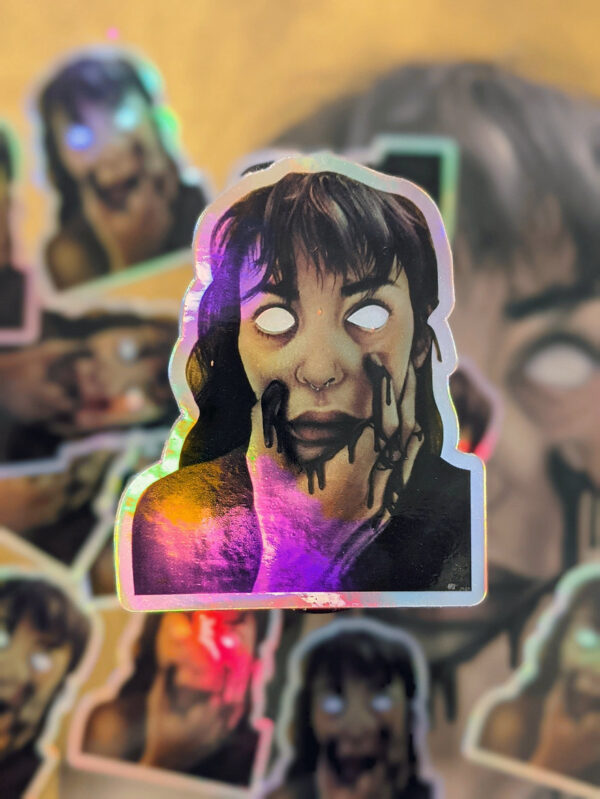 holographic-self-portrait-sticker-by-adriana-artmeier adrianaartmeier 653370