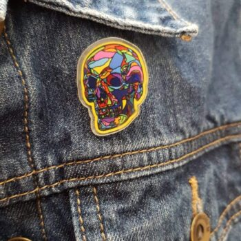 skull-acyrlic-pin-by-clarke-collection Clarke Collection 544366