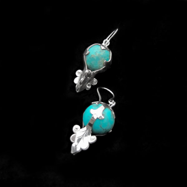 athena-silver-gemstone-earrings-by-skadi-jewellery-design