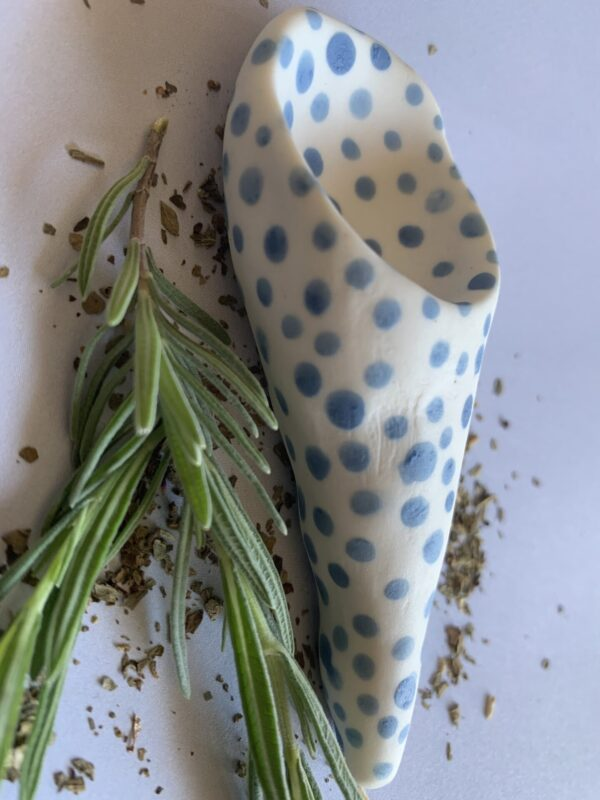 funky-alice-blue-cone-porcelain-spoon-by-the-intrepid-potter theintrepidpotter 055378