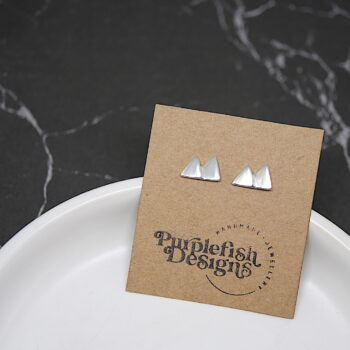 mountain-studs-handmade-sterling-silver-earrings-by-purplefish-designs-travel-jewellery andrea_purplefish 622107
