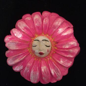 gerbera-nymph-brooch-hot-pink Amethyst Moon 751138