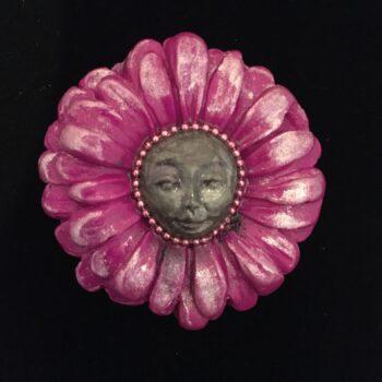 gerbera-nymph-brooch-magenta Amethyst Moon 305275