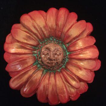 gerbera-nymph-brooch-burnt-orange Amethyst Moon 687476