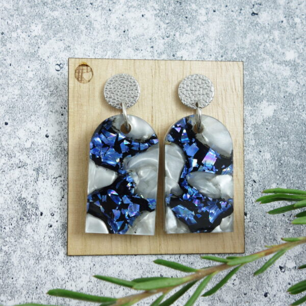recycled-acrylic-earrings-small-arches LouisevanderWerff 672624