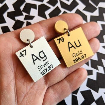 periodic-table-gold-and-silver-earrings-by-oh-pluto LouisevanderWerff 323402