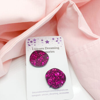 organic-circle-studs-red-by-unicorn-dreaming unicorndreaming 510723
