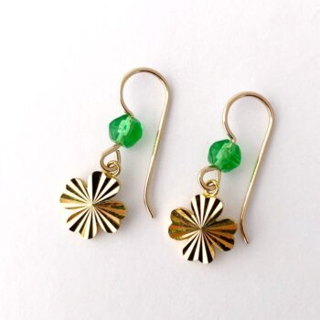 upcycled-4-leaf-clover-earrings-by-my-vintage-obsession myvintageobsession2020 440721