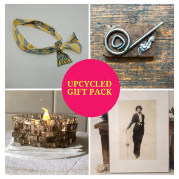 Upcycled gift pack