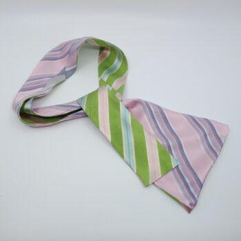 green-and-pink-silk-headband-by-judith-scott-upcycling judithscott 387294