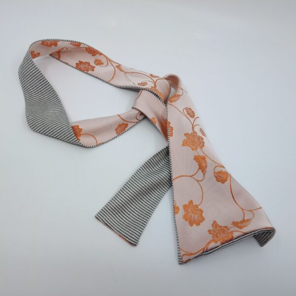 apricot-silk-headband-by-judith-scott-upcycling judithscott 645402