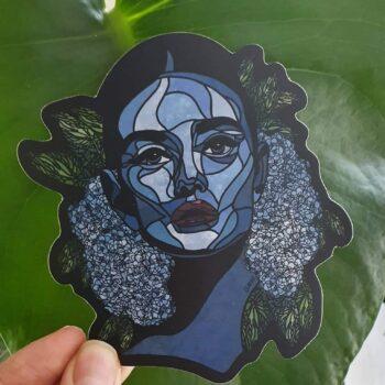 hydrangeas-sticker-by-clarke-collection-Clarke Collection-216848