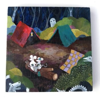 Kelly McBrady The visitors 1 - ghosts