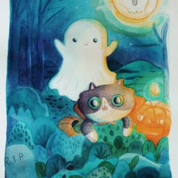 Nea Valdivia Spooky NightNea Valdivia Spooky Night - ghosts